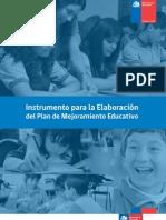 Instrumento Para La Elaboracion Del PME Formulario - Copia