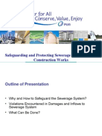 Prevention of Damaged and Inflow to Sewerage SystemAug2011