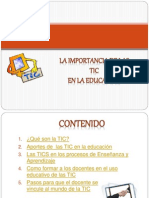 La Tics_Importancia Edu