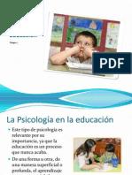 Psicología en la Educación