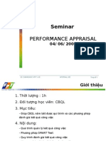 FPT PERFORMANCE APPRAISALL