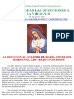 Alma de Todas Las Devociones a La Virgen-II