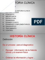 2.- Historia Clínica