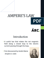 Electromagnetism Amperes Law
