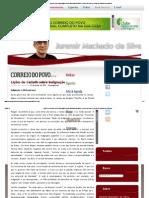 Lições de Castells sobre indignação Juremir Machado da Silva - Correio do Povo _ O portal de notícias dos gaúchos