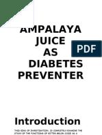Ampalaya Juice
