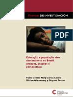 educación y población afro en Brasil