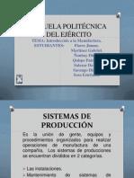 Diapo1. Manufactury Introduction