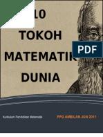 Tugasan 10 Tokoh Matematik Dunia
