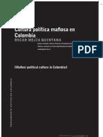 Cultura Polita Mafiosa en Colombia