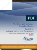 Cherwell Software - A Guide to Service Catalogues