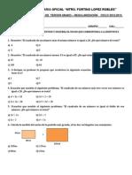 Examen de Nivelacion de Matematicas III Fortino
