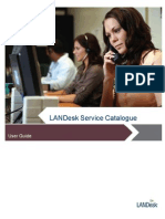 LANDesk Service Catalogue User Guide