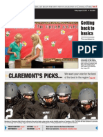 Claremont COURIER 8.23.13