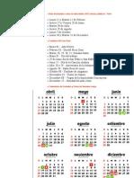 FERIADOS LARGOS Y FIN DE SEMANA LARGO EN EL PERÚ 2013
