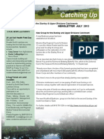 SEQ Catchments Catching Up Newsletter Stanley and Upper Brisbane July 2013