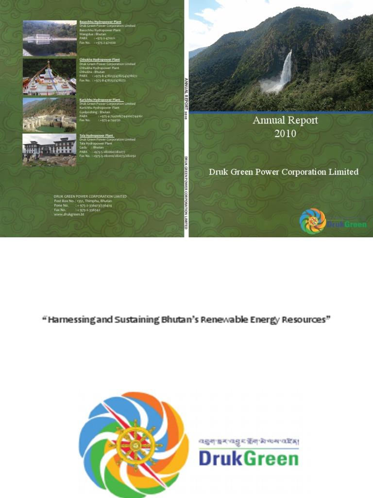 Dgpc Annual Report 2010pdf Audit Dividend