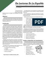 Enfermagem -  Prevencão De Lesoes no Transporte de  Pacientes (Pdf) - USP