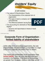 Stockholder's Equity