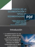 Presentación sedimentadores