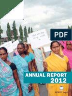 Annual Report 2012 WOREC Nepal