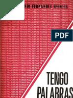 Antonio Fernández Spencer - Tengo palabras.pdf