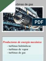 3.- Turbinas de Gas