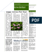 Nejat Newsletter - ISSUE 10