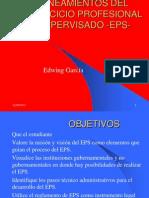 Lineamientos Generales Del Eps