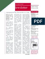 Nejat Newsletter - ISSUE 20