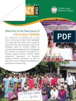 Advocacy Update Issue 1 2013