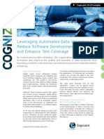 Leveraging Automated Data Validation  to Reduce Software Development Timelines and Enhance Test Coverage