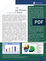 Facts on Violence Against Women (VAW) in Nepal