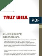 Tally Weijl Presentation