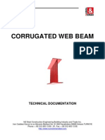 Corrugated Web Beam