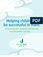 Helping Children Be Successful in Math