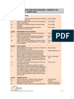 Schedule of Duties and Professional Charges for Quantity Surveying