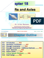 Shafts and Axles chapter 29
