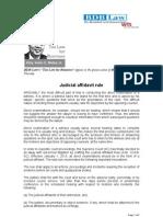 Judicial Affidavit Rule ICN 9.20.12