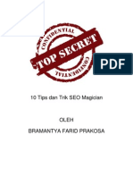 10 Tips dan Trik SEO Magician