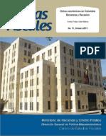Boletin 11 Ciclos Economicos en Colombia Bonanzas y Recesion