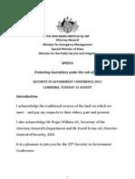 AG Speech Security in Government Speech Transcript 2