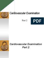 Cardiovascular Examination Part 2