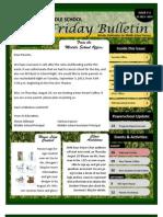 Parent Bulletin # 2 SY1314