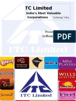 ITC Ltd bcg matraix & product mix