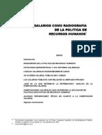 HINTZE, Jorge - Los salarios como radiografía
