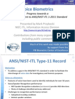 NIST VOICE Biometrics v3 Voice Biometrics