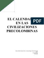 El calendario en las civilizaciones precolombinas.