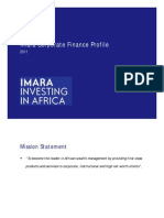 Imara Corporate Finance Profile June 2011