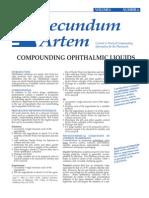 padsec v6n4 compounding ophthalmic liquids